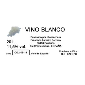 Baki Imbox Blanco de 15, 20 0 25 L